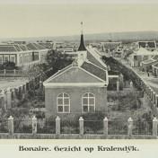 Gezicht op Kralendijk 1913