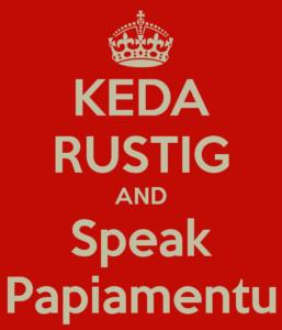 keda-rustig-and-speak-papiamentu